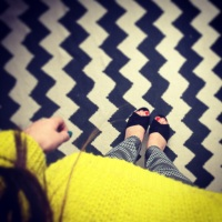 Yellow & Chevron